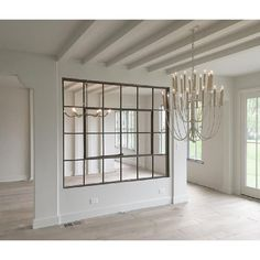 Large Antique American Industrial Metal Casement Window, more available. Please note - these are only metal window frames without glass. Interior Windows, Interior Walls, Interior Design, Home Windows, Interior Ideas, Living Room Kitchen, Living Room Decor, Living Area, Living Rooms