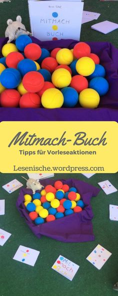 Das Mitmachbuch – Bunter Punktespaß Das Mitmachbuch – Collaborative games and creative ideas suitable for the book Preschool Books, Handmade Books, Special Education, Kids And Parenting, Diy For Kids, Literacy, Activities For Kids, Teaching, Creative