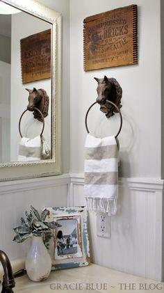 Beautiful Bathroom Hand Towels decorate small half bath | shaped half bathroom, there was no