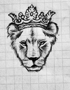 lioness tattoo   lione...