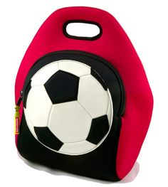 Dandelion Baby - Dabbawalla Bags:  Game On! Soccer Lunch Bag, $29.90, washable, non-toxic, made with apriprene.