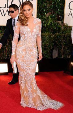 Jennifer López y los 'vestidos-tatuaje' - Foto 9