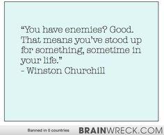 Winston Churcill Quote