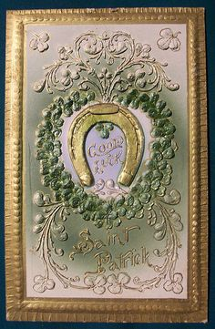 Vintage St. Patricks Day Postcard