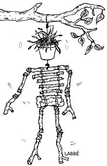 Halloween: Klapperskelett aus Ästen - Zzzebra, das Web-Magazin für Kinder   Labbé Verlag