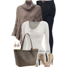 """Taupe Teddie Tote from Gigi New York!"""