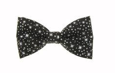 Clip On Bow Ties, Boys Bow Ties, Silver Stars, Black Silver, Music Clips, Bow Tie Collar, Tie And Pocket Square, Baby Bows, Trending Outfits