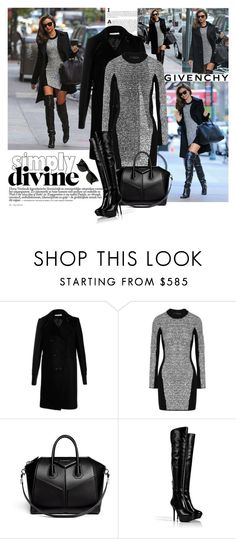 """""""Get the look"""" by polyandrea ❤ liked on Polyvore featuring Christian Dior, Kerr®, Givenchy, Alexander Wang, Sergio Rossi, Ray-Ban and mirandakerr"""