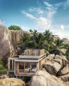 """Six Senses Residences on Instagram: """"A peaceful spa moment in Seychelles. Access to the spa as well as VIP discounts come as standard for owners at Zil Pasyon Residences.…"""" Contemporary Architecture, Amazing Architecture, Outdoor Furniture Sets, Outdoor Decor, Beautiful Hotels, Resort Spa, Seychelles, Villa, In This Moment"""