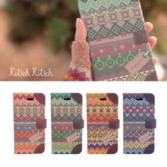Kitsch Kitsch Aztec Leather Flip CoverHappyMori specializes in quality cell phone cases designed at the design studio in South Korea. You
