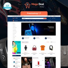 MegaDeal - Ecommerce Shop Template is a good choice for selling #Fashion,#Electronics, #Art, #webibazaar #webiarch #Bicycle, #Furniture, #design #template #flower #kidswear #Cake #Furniture #Flower #Food #appliances #bag #ceramic #cosmetic #fashion #flower #coffee #home #jewellery #organic #pet-store #power-tool #resturant #shoes #watch #Themeforest #opencart #prestashop #wordpress #inspiration #product #idea #modern #Responsive #Best #minimalist https://goo.gl/iC4NKf