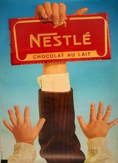 Nestlé - Chocolat Au Lait - 1960 - (Josep Artigas) -