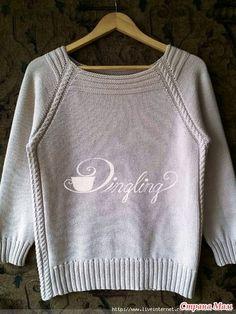 Приветствую вас, дорогие рукодельницы, не проходите мимо моего крика о помощи!!! Нашла замечательный пуловерчик http://www.stranamam.ru/