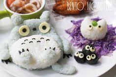 Les adorables créations culinaires de Li Ming, aka Bento Monsters, une maman basée à Singapourqui prépare des repas créatifs et très kawaii pour ses deu