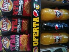 Ven a Chuchelandia (Huetor tajar ) y llévate una bolsa grande de Xtra onduladas de Matutano + una Pepsi o Kas naranja de dos litros por sólo 2€