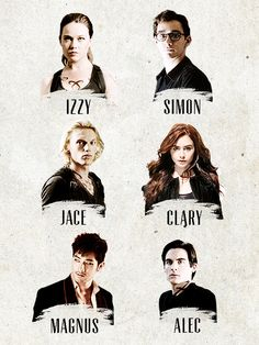TMI cast; I don't necessarily like all of the choices <---Still need to see the movie, even though I've read all the books. I hope it's as good as I expect it to be.