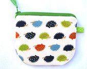 Cute little hedgehog coin purse