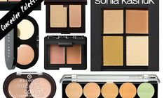10 Best Concealer Palettes to Cover Up Every Situation // do these work ¿?