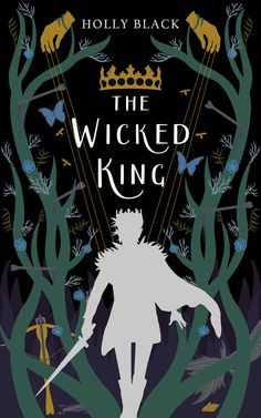 The Wicked King, Book Cover Design Illustration, Holly Black, Cardan and Jude Fantasy Book Covers, Best Book Covers, Beautiful Book Covers, Book Cover Art, Book Cover Design, Holly Black Books, Magazine Design, Buch Design, Design Design
