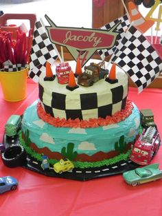 Disney Cars Birthday Party Ideas | Photo 8 of 53 | Catch My Party