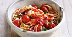 This and basil pasta is a better for your Lunch made with wholesome ingredients! Dairy, gluten, grain free and paleo too! Basil Recipes, Italian Recipes, Salad Recipes, Egg Recipes, Pasta Dinners, Vegan Dinners, Delicious Vegan Recipes, Healthy Recipes, Free Recipes