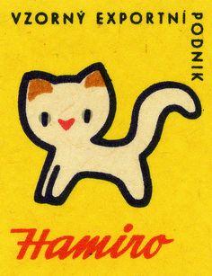 Hamiro, matches for kids! Czech matchbox labels