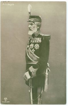 King Carol I of Romania all decked out.
