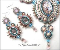 Soothing Spring earrings | Flickr : partage de photos !