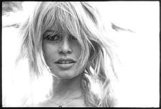 French actress and model Brigitte Bardot. Photograph by Bert Stern. Bridget Bardot, Brigitte Bardot, Bert Stern, Marilyn Monroe, Catherine Deneuve, Bardot Hair, Bardot Bangs, Isabelle Adjani, French Actress