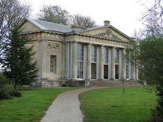 Croome Park - the orangery built for the Earl of Conventry by Robert Adam at Croome Court in 1760 photo by gowersaint, via Flickr