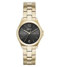 DKNY Ny2366 Parsons Gold-Plated Watch. #dkny #womens fashion watches