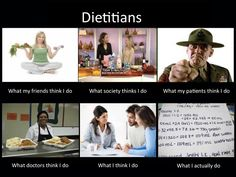 What People Think Dietitians Do