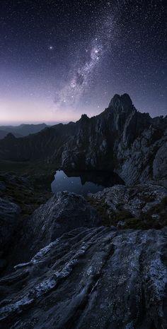 ~~Insomnia | Milky Way above the Procyon Peaks, Western Arthurs, Tasmania, Australia | by Dylan Gehlken~~