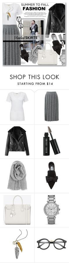 """summer to fall layering"" by nanawidia ❤ liked on Polyvore featuring Cotton Citizen, Uniqlo, Bobbi Brown Cosmetics, Lapuan Kankurit, Prada, Yves Saint Laurent, MICHAEL Michael Kors, Brave Lotus, ZeroUV and layers"