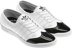 adidas Basket Blanche Homme, Chaussure Richelieu, Baskets Blanches, Noir Et  Blanc, Chaussures 6bcb1cb3ac72