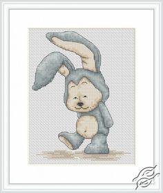 Funny Rabbit - Cross Stitch Kits by Luca-S - B1078