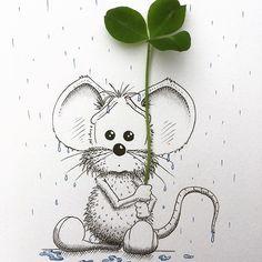 Chose your umbrella wisely! ☔️ - Loïc Apreda