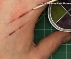 A quick video tutorial that demonstrates how to simply create realistic scratches using basic kit! stuart bray -- great tutorials