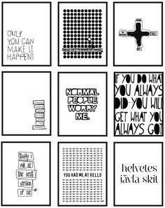 Therese Sennerholt prints