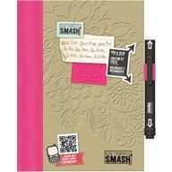 """Smashbook, very cool creative scrapbook.  of course my Katy MUST have one.  watch the little """"Smash"""" video to see how it works."""