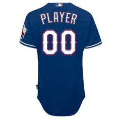 Buying - Majestic Athletic Texas Rangers Mens Generic Player Cool Base Authentic On-Field Jersey