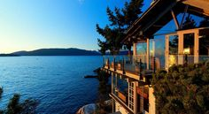 House on a Seaside Bluff in West Vancouver by Paul Merrick