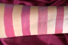 Neve Cosmetics – Neogothic Collection : Swatch e Prime impressioni