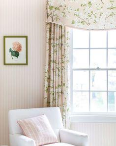 Nursery Room, Girl Nursery, Girls Bedroom, Blue Bedroom, Pink And Green Nursery, Nursery Inspiration, Interior Inspiration, Little Girl Rooms, Up Girl