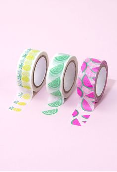 Kawaii FANCY Pastel Washi Tape Rolls Cute Japanese Fairy Kei Bears Baby Designs