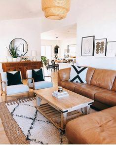 Boho Living Room, Living Room Modern, Home And Living, Living Room Designs, Living Room Decor, Living Rooms, Small Living, Living Room Inspiration, Home Decor Inspiration