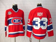 Montreal Canadiens 33 Patrick ROY Home Jersey