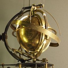 The Armillary Sphere: The Marriage of Science and Art ~ Kuriositas