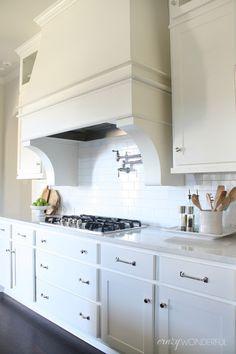 crazy wonderful adding glass upper cabinets white kitchen cabinets white subway tile backsplash - Restoration Hardware Kitchen Cabinet Pulls