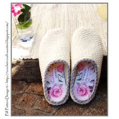 Ravelry: Crochet-Knit White Slipper-Clogs - Basic Pattern - Part 1 pattern by Ingunn Santini